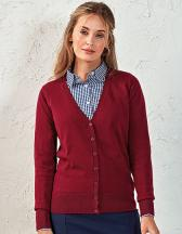 Ladies` Button Through Knitted Cardigan