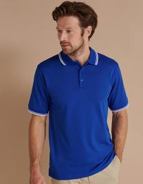 Men´s Coolplus® Short Sleeved Tipped Polo Shirt