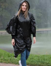 Disposable Raining Poncho Sumatra Adults/Kids